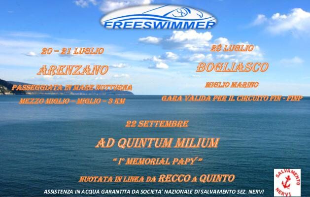 TORNA LA SUMMER FREESWIMMER!